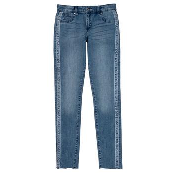 Textiel Meisjes Skinny Jeans Guess GABIN Blauw