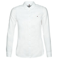 Textiel Dames Overhemden Tommy Hilfiger HERITAGE REGULAR FIT SHIRT Blc