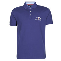 Textiel Heren Polo's korte mouwen Tommy Hilfiger ARCH ARTWORK REGULAR POLO Marine