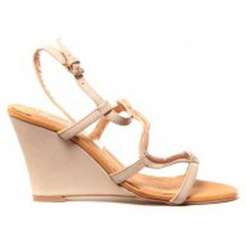 Schoenen Dames Sandalen / Open schoenen Cassis Côte d'Azur Chaussures Alefe Taupe Bruin