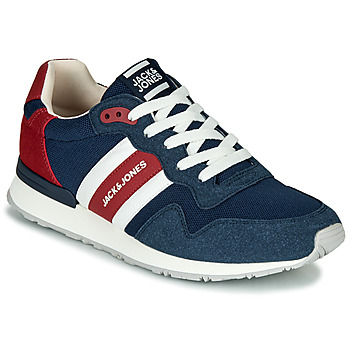 Schoenen Heren Lage sneakers Jack & Jones STELLAR MECH Marine / Rood