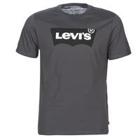 Textiel Heren T-shirts korte mouwen Levi's HOUSEMARK GRAPHIC TEE Grijs