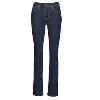 Textiel Dames Bootcut jeans Levi's 725 HIGH RISE BOOTCUT Thee / Negen