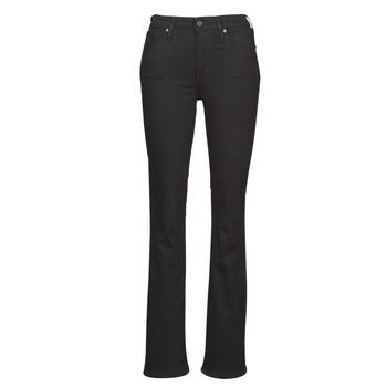 Textiel Dames Bootcut jeans Levi's 725 HIGH RISE BOOTCUT Zwart