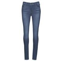 Textiel Dames Skinny Jeans Levi's 720 HIRISE SUPER SKINNY Echo / Storm