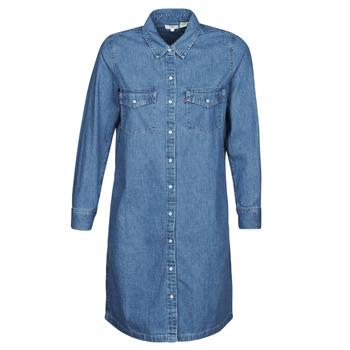 Textiel Dames Korte jurken Levi's SELMA DRESS Blauw