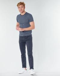 Textiel Heren 5 zakken broeken Levi's 511™ SLIM FIT Marine