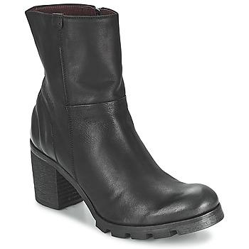 Schoenen Dames Enkellaarzen BKR LOLA Zwart