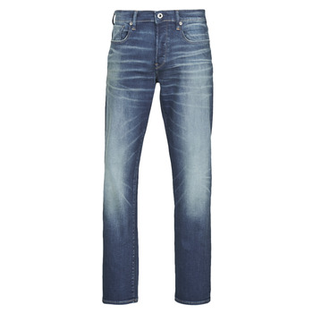 Textiel Heren Straight jeans G-Star Raw 3301 STRAIGHT Blauw