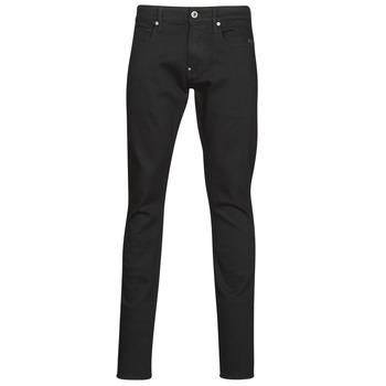 Textiel Heren Skinny Jeans G-Star Raw Revend Skinny Pitch / Zwart