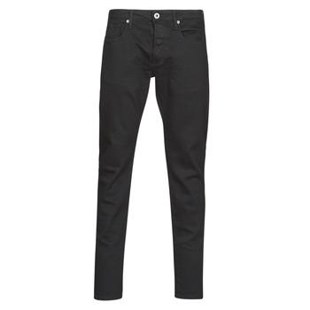 Textiel Heren Skinny jeans G-Star Raw 3301 Slim Pitch / Zwart