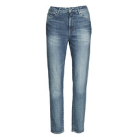 Textiel Dames Straight jeans G-Star Raw 3301 HIGH STRAIGHT 90'S ANKLE WMN Blauw