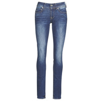 Textiel Dames Straight jeans G-Star Raw MIDGE MID STRAIGHT WMN Kaki