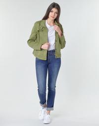 Textiel Dames Straight jeans G-Star Raw Midge Mid Straight Wmn Vintage