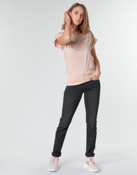 Textiel Dames Straight jeans G-Star Raw MIDGE MID STRAIGHT WMN Grijs / Donker