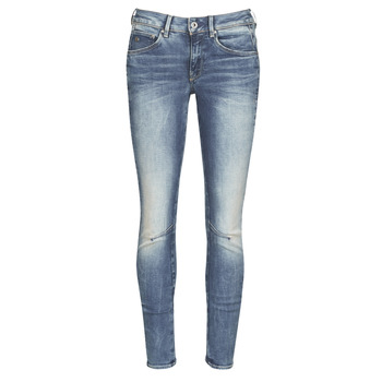 Textiel Dames Skinny Jeans G-Star Raw ARC 3D MID SKINNY WMN Blauw