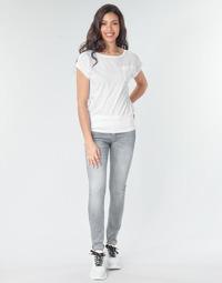Textiel Dames Skinny Jeans G-Star Raw LYNN MID SKINNY WMN Grijs