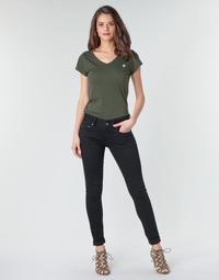Textiel Dames Skinny Jeans G-Star Raw MIDGE CODY MID SKINNY WMN Zwart