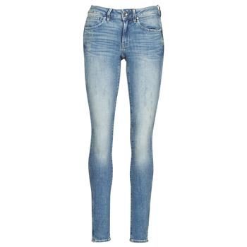 Textiel Dames Skinny Jeans G-Star Raw Midge Zip Mid Skinny Wmn Vintage / Vintage / Destroy