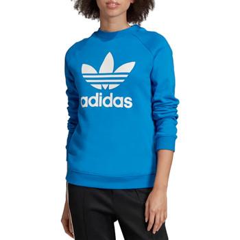 Textiel Dames Sweaters / Sweatshirts adidas Originals Trefoil Crewneck Sweatshirt  ED7582