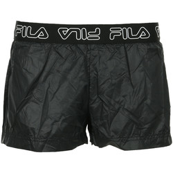 Textiel Dames Korte broeken / Bermuda's Fila Amal Shorts Wn's Zwart