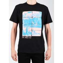 Textiel Heren T-shirts korte mouwen DC Shoes DC EDYZT03746-KVJ0 black