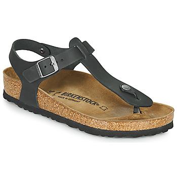 Schoenen Dames Teenslippers Birkenstock KAIRO Zwart