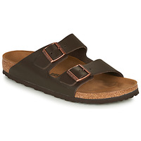 Schoenen Heren Leren slippers Birkenstock ARIZONA LEATHER Bruin