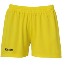 Textiel Dames Korte broeken / Bermuda's Kempa Short femme  Classic jaune citron