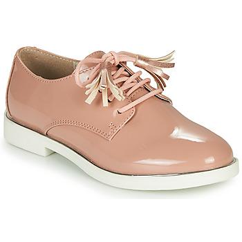 Schoenen Meisjes Derby André ROSINE Roze