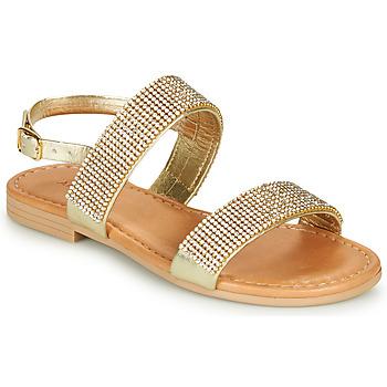 Schoenen Meisjes Sandalen / Open schoenen André DORIANNE Goud