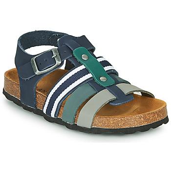 Schoenen Jongens Sandalen / Open schoenen André TRISTAN Marine