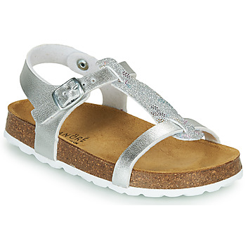 Schoenen Meisjes Sandalen / Open schoenen André SYLVIE Zilver