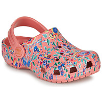Schoenen Dames Klompen Crocs LIBERTY LONDON X CLASSIC LIBERTY GRAPHIC CLOG K Roze