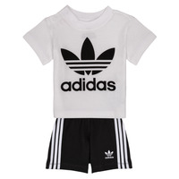 Textiel Kinderen Setjes adidas Originals CAROLINE Wit / Zwart