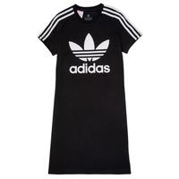 Textiel Meisjes Korte jurken adidas Originals SALOME Zwart
