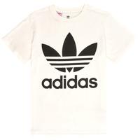 Textiel Kinderen T-shirts korte mouwen adidas Originals SARAH Wit