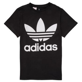 Textiel Kinderen T-shirts korte mouwen adidas Originals MAXENCE Zwart