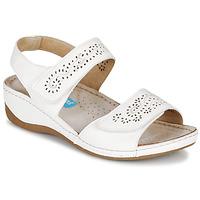 Schoenen Dames Sandalen / Open schoenen Damart MILANA Wit