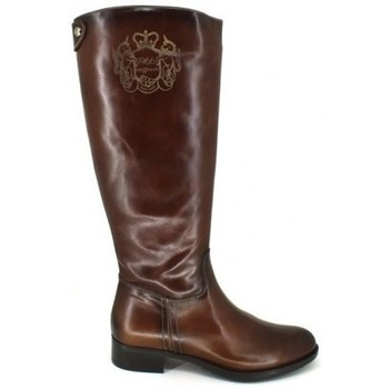 Schoenen Dames Hoge laarzen Luis Gonzalo 4936M Botas de Montar de Mujer Bruin