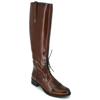 Schoenen Dames Hoge laarzen Luis Gonzalo 4932M Botas de Montar de Mujer Bruin
