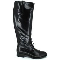 Schoenen Dames Hoge laarzen Luis Gonzalo 4932M Botas de Montar de Mujer zwart
