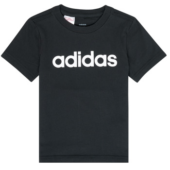 Textiel Jongens T-shirts korte mouwen adidas Performance NATAZO Zwart
