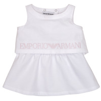 Textiel Meisjes Korte jurken Emporio Armani Alberic Wit