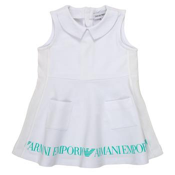Textiel Meisjes Korte jurken Emporio Armani Apollinaire Wit