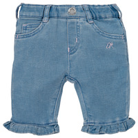 Textiel Meisjes 5 zakken broeken Emporio Armani Arthur Blauw
