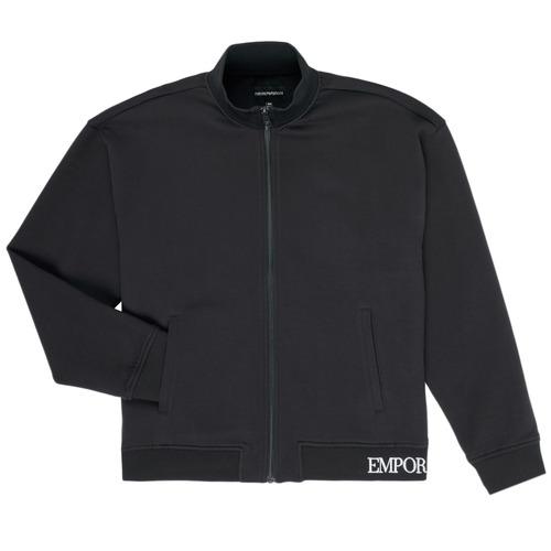 Textiel Jongens Wind jackets Emporio Armani Achille Marine
