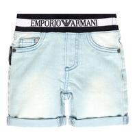 Textiel Jongens Korte broeken / Bermuda's Emporio Armani Ariel Blauw