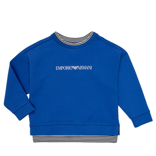 Textiel Jongens Sweaters / Sweatshirts Emporio Armani Aurèle Blauw