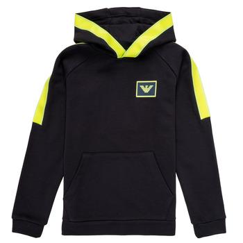 Textiel Jongens Sweaters / Sweatshirts Emporio Armani Abel Marine / Groen